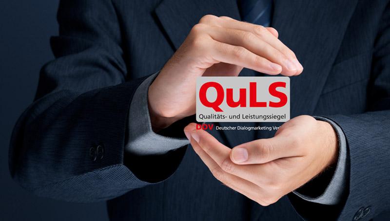 QuLS Zertifizierung in geschützten Händen